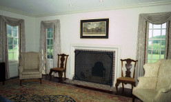 The homeowner had us create the look of a gracious turn of the century Eastern Shore Farmhouse.