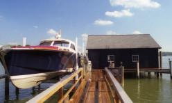 Residential boat house & dock