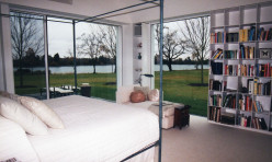 Master Suite with concealed blinds.
